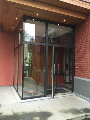 Porte coulissante en verre bruxelles anderlecht anderlecht charleroi brabant - Porte coulissante belgique ...