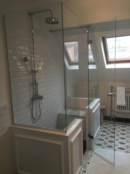 cabine de douche en verre saint gilles. Black Bedroom Furniture Sets. Home Design Ideas